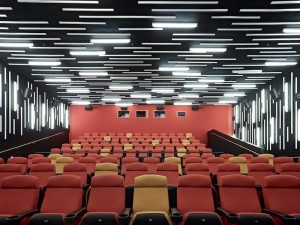 Interior of the New People Cinema, San Francisco