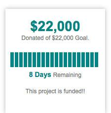$22,000 donated - This project is funded!